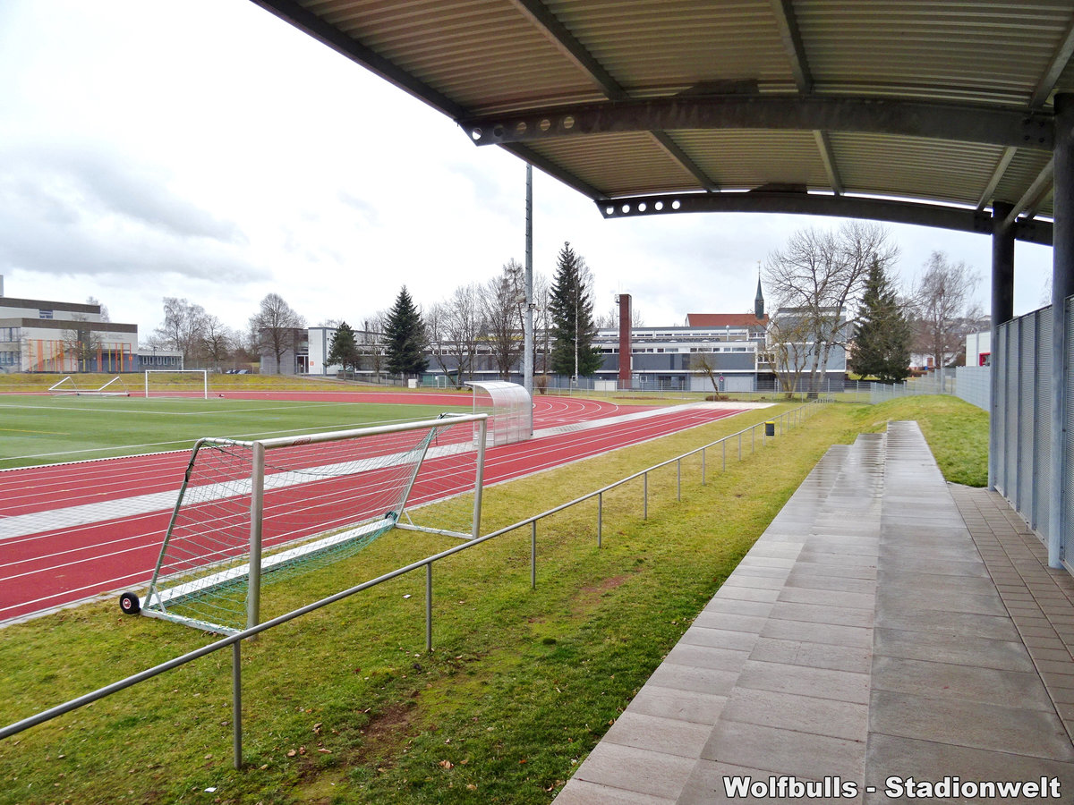Stadion Sulgen aufgenommen am 01. Februar 2020