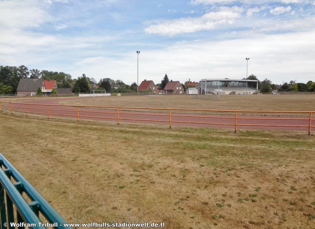 Stadion Wittmund aufgenommen am 31. Juli 2018