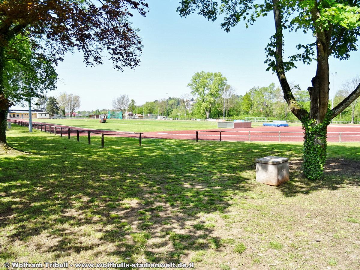 TBE-Sportstätte Emmendingen aufgenommen am 01. Mai 2019