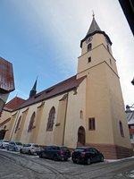 St. Nikolaus Kirche in Geisingen aufgenommen 07.01.2017