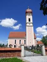 Pfarrkirche St. Martin in Heimertingen aufgenommen am 10.06.2017