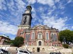 Hauptkirche Sankt Michaelis (genannt Michel) aufgenommen am 07. August 2016