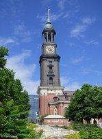 St.-Michaelis-Kirche in Hamburg aufgenommen 07.08.2016