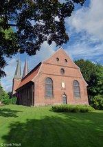 St. Nicolai Kirche Altenbruch aufgenommen am 28.07.2016