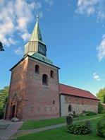 St. Abundus in Cuxhaven-Groden aufgenommen am 01.08.2016