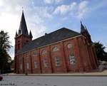 Martinskirche in Cuxhaven-Ritzebüttl aufgenommen am 02.08.2016