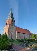 St. Urbanus Kirche in Dorum aufgenommen am 02,08.2016