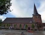 St. Severi-Kirche in Otterndorf aufgenommen am 10.08.2016